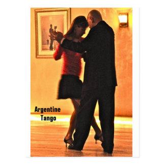 Tango-Konzert Postkarte