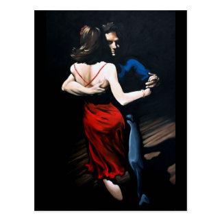 Tango-Liebe Postkarte