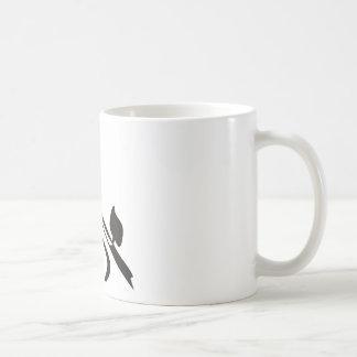Tango mit hebräischen Buchstaben Kaffeetasse