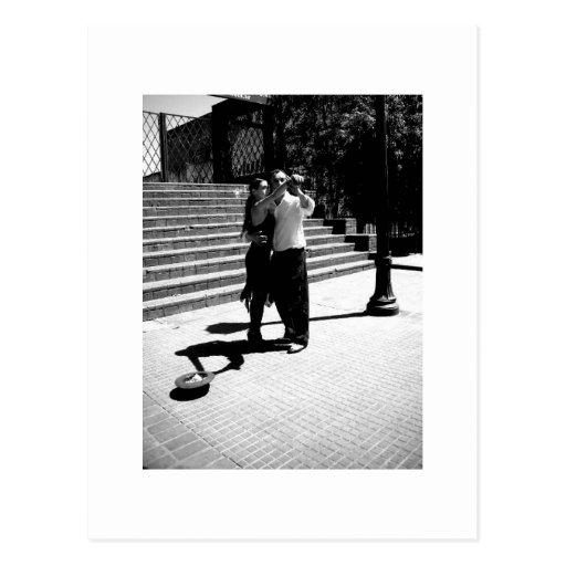 Tango Postkarte