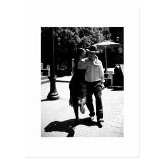 Tango-Tritt Postkarte