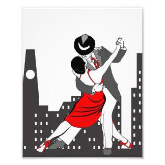 Tango und die Stadt Fotodruck