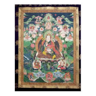 Tanka von Padmasambhava, ANZEIGE c.749 Postkarte