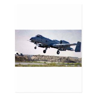 'Tankbuster A-10 Postkarte
