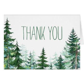 Tannen-Baum danken Ihnen Karten