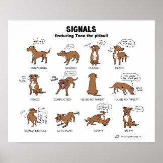 TANO Signale Posterdrucke