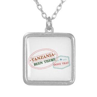 Tansania dort getan dem versilberte kette