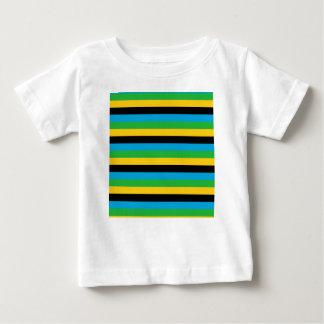 Tansania-Flaggenstreifen Baby T-shirt