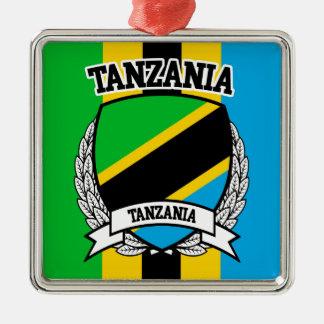 Tansania Silbernes Ornament