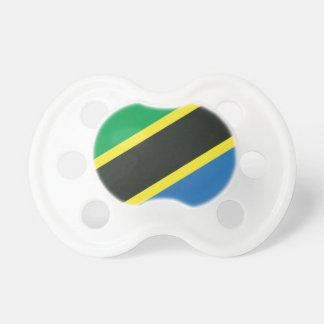 Tansanische Flagge Schnuller