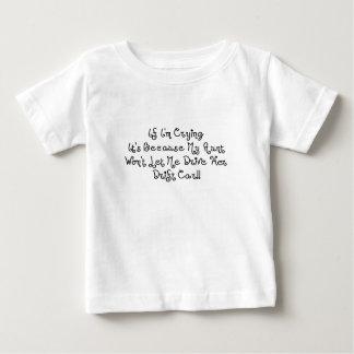 Tante lässt mich nicht ihr Antrieb-Auto fahren Baby T-shirt
