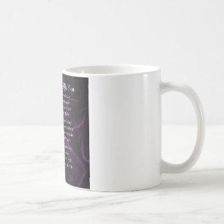 Tante Poem - lila Kaffeetasse