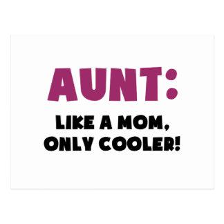 Tante: Wie eine Mamma nur cooler Postkarte