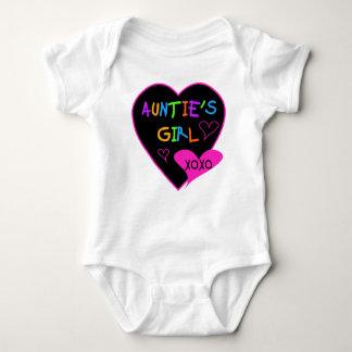Tanten-Mädchent-shirts, -Tassen, -hüte und -mehr Baby Strampler