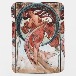 Tanz Alfons Muchas 1898 Kinderwagendecke