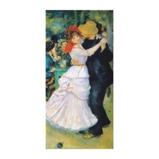 Tanz an Bougival Renoir schöner Kunst Leinwanddruck