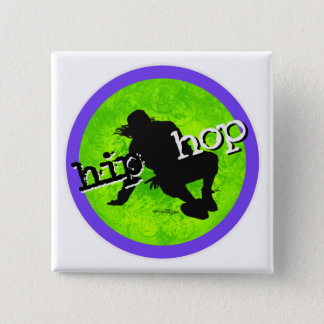 Tanz - angesagter Hopfenknopf Quadratischer Button 5,1 Cm
