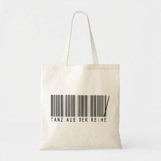 Tanz aus der Reihe Einkaufstaschen