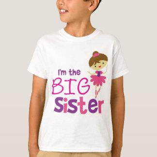 Tanz-Ballett-große Schwester T-Shirt