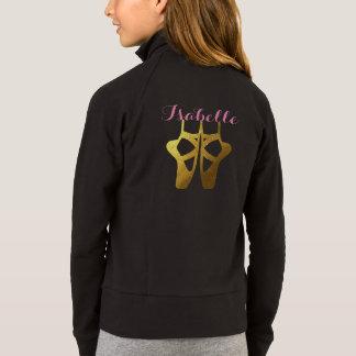 Tanz-Ballett-Jacke mit Namen u. Tänzer Jacke