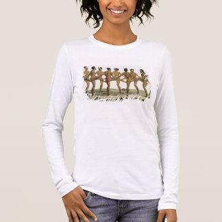 Tanz der Caroline-Inselbewohner, überziehen 22 von Langarm T-Shirt
