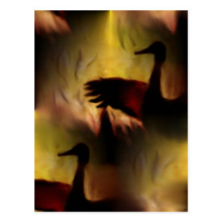 Tanz der Kräne Postkarte
