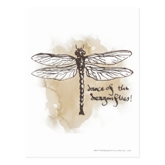 Tanz der Libellen Postkarte