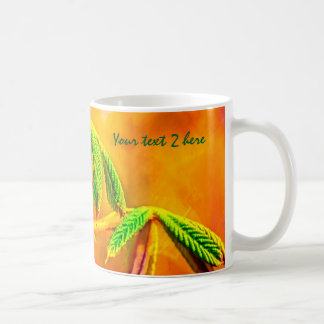 Tanz des Feuers Kaffeetasse