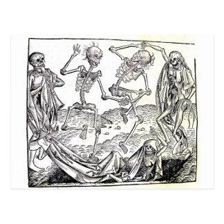 Tanz des Todes Postkarte
