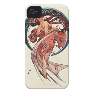 Tanz durch Alfons Mucha 1898 iPhone 4 Cover