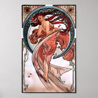 Tanz durch Alfons Mucha 1898 Poster