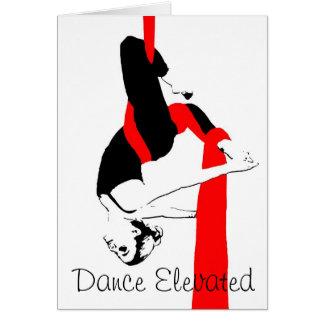Tanz erhöht, Zwillinge, zwei Farben Karte