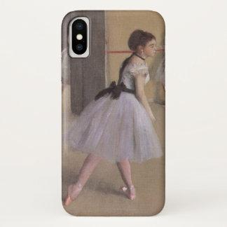 Tanz-Foyer an der Oper durch Edgar Degas iPhone X Hülle