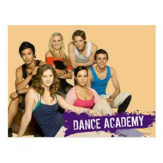 Tanz-Hochschulform Postkarte