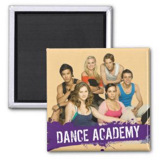 Tanz-Hochschulform Quadratischer Magnet
