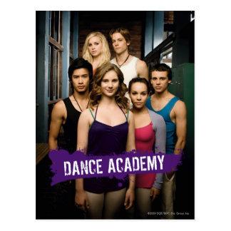 Tanz-Hochschulklasse Postkarte