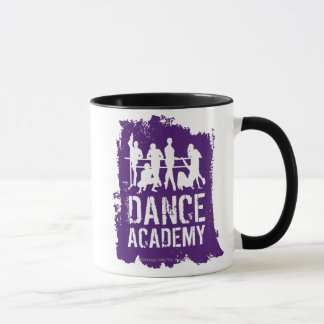 Tanz-HochschulSilhouette-Logo Tasse