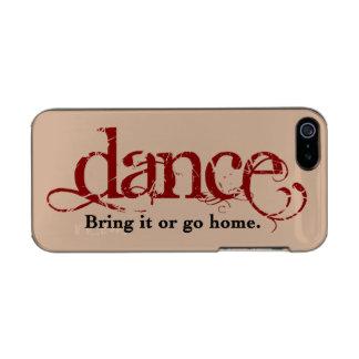 Tanz. Holen Sie ihn oder gehen Sie nach Hause Incipio Feather® Shine iPhone 5 Hülle