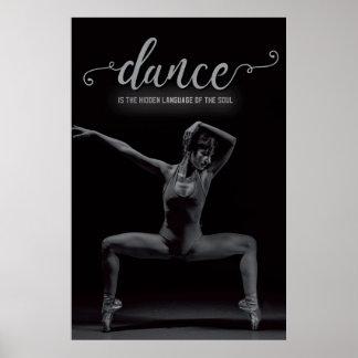 Tanz ist die Sprache des Souls - Plakat