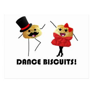 Tanz-Kekse!!! Postkarte