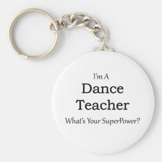 Tanz-Lehrer Schlüsselanhänger