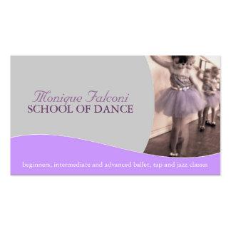 Tanz-Lehrer-Visitenkarte