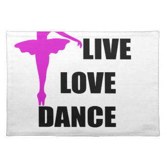 Tanz-Liebe Live Tischset