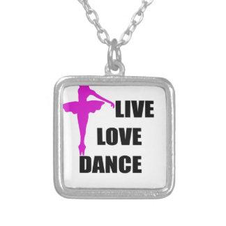 Tanz-Liebe Live Versilberte Kette