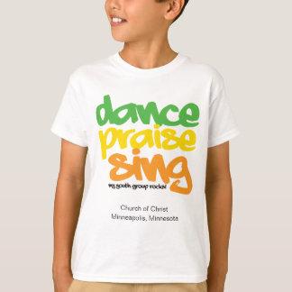 Tanz-Lob singen Jugend-Gruppe Peronsonalized Shirt