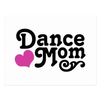 Tanz-Mamma Postkarte
