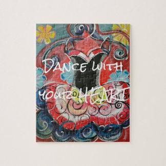 Tanz mit Ihrem Herz-Puzzlespiel Puzzle