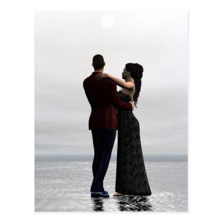 Tanz mit mir - Tanzen-Paar-Postkarte Postkarte