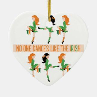 Tanz mögen Iren Keramik Ornament