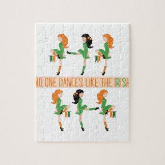 Tanz mögen Iren Puzzle